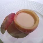 エルミタージュ ドゥ タムラ - スペシャリテ桃のスープ