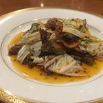 天鳳 - 夏野菜の回鍋肉