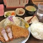 熟豚 - 超特上ロースかつ定食