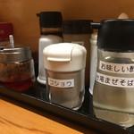 麺屋いち源 - お味しい酢