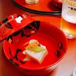 71808119 - 百合根豆腐のすまし汁仕立て