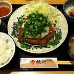 71809501 - 葱おろしヒレカツ定食
