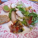 レ プリムール - ランチコース2000円の前菜