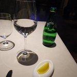 レストラン コートドール - Perrier レモン付き