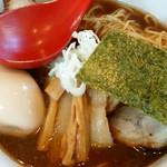 麺屋 武吉 - しょうゆラーメン全部乗せ大盛り1080円!