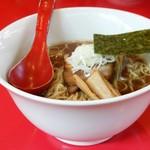 麺屋 武吉 - 深めのドンブリ