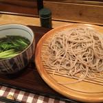 信濃 - 料理写真:鴨ざる蕎麦〜(^.ー^)/¥950円