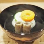 料理 澤 - 渡り蟹の真丈