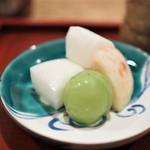料理 澤 - 桃 梨 シャインマスカット