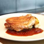 OGINO organic Restaurant - ☆骨付き鴨モモ肉の皮カリカリ焼き