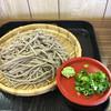 高山そば道場 - 料理写真:ざる蕎麦の大盛り 700円