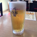 餃子とからあげ 将軍 - ほろ酔いセット(生ビール)