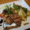オステリア デッレ ジョイエ - 料理写真:セコンド(1900円) 前田美豚肩ロース肉のグリッリア