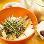 鳥居茶屋 - 名物 鮎茶漬け (¥1,550)