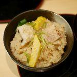 71819222 - 穴子の土鍋炊き込み御飯