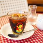 カフェ・ボーチカ - ボルシチランチのアイスコーヒー