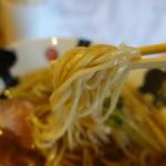 彩色ラーメン きんせい総本家 夢風 - ☆中太ストレート麺!(^^)!☆