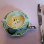 サント ウベルトゥス - 冷製コーンスープ