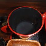 そば 丈の家 - 蕎麦湯
