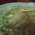 むらた亭 - 豚バラチャーシューは、大人しい素直な肉味。