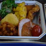 レストラン・キハ - 鴨ロースと揚げ物