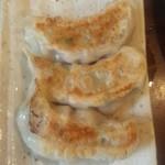 香港料理 蘭 -    焼き餃子