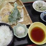 味菜 - 天ぷら定食1000円