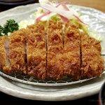 北斗七星 - 料理写真:甘トロ豚かつ