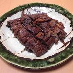 千松しま - 天然鰻の山椒煮。