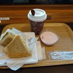 エクスパーサカフェ - サンドイッチセット