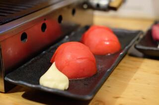 治郎丸 - 冷やしトマト (380円)