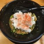 麺屋いち源 - 〆