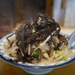 井手ちゃんぽん - 料理写真:きくらげトッピング