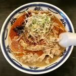 ラーメン・餃子 ハナウタ - 薬膳味噌中辛、700円です。