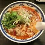 ラーメン・餃子 ハナウタ - 料理写真:特辛薬膳味噌800円、パクチートッピングプラス100円です。