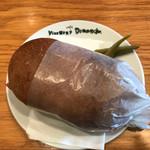 カフェヴィヴモンディモンシュ - ソテーされたハムがぎっしりのサンドイッチ