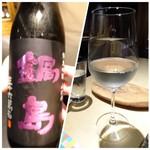 TTOAHISU - ◆次に「鍋島」を。こちらは「和」の要素感じるお料理ですので「日本酒」が合います。