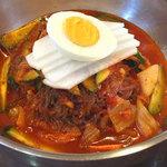 辰家 - ビビン冷麺(辛い混ぜ冷麺)