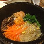 辰家 - 石焼ビビンバ(石鍋入り韓国風混ぜご飯)