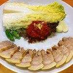 辰家 - ボッサム(豚バラ肉の煮物)