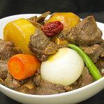 辰家 - 特製カルビチム(野菜と骨付き肉の旨煮)