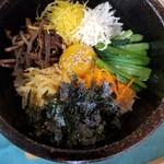 お父さんの台所カマソッ - 石焼きビビンバ定食 1058円