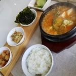 お父さんの台所カマソッ - スンドゥブチゲ定食 1026円