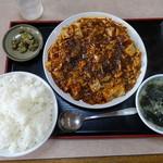 竹八 - 料理写真:四川風陳麻婆豆腐