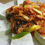 辰家 - 豆腐キムチ