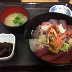 中央食堂 - 特上海鮮丼 2000円