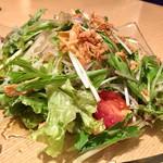 71845035 - 新鮮野菜たっぷりサラダ