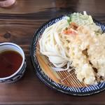 本格手打 麺の蔵 - エビ天ザル