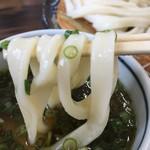 本格手打 麺の蔵 - 麺はモッチリ美味し✌