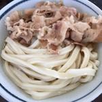 本格手打 麺の蔵 - 肉ぶっかけ